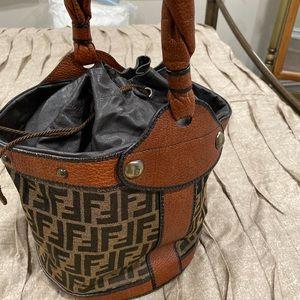 Fendi bucket purse